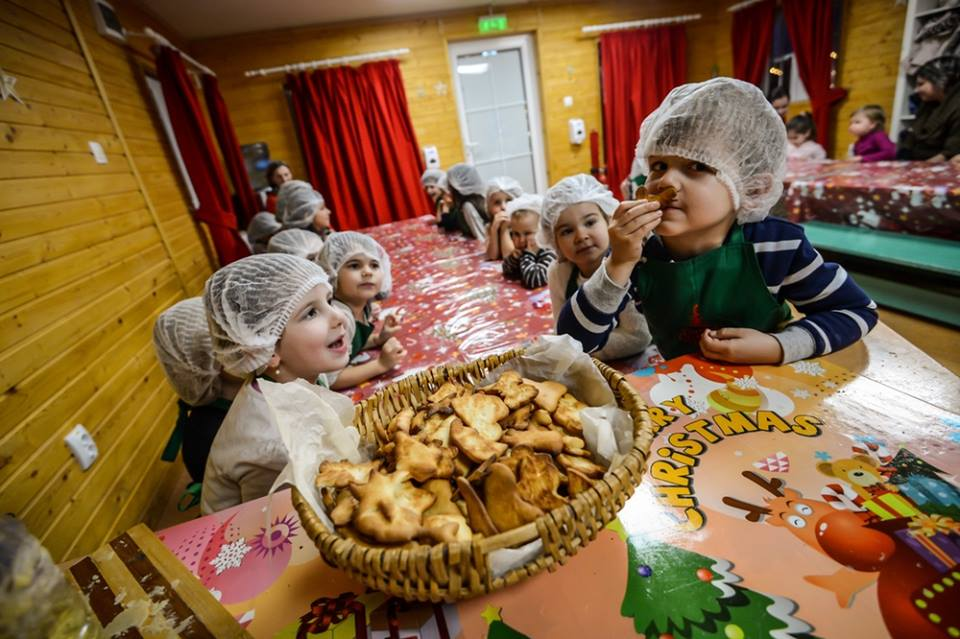 Târgul de Crăciun din Sibiu - Atelierul lui Moș Crăciun